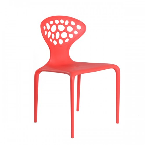 Chaise supernatural rouge