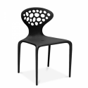Chaise supernatural noire