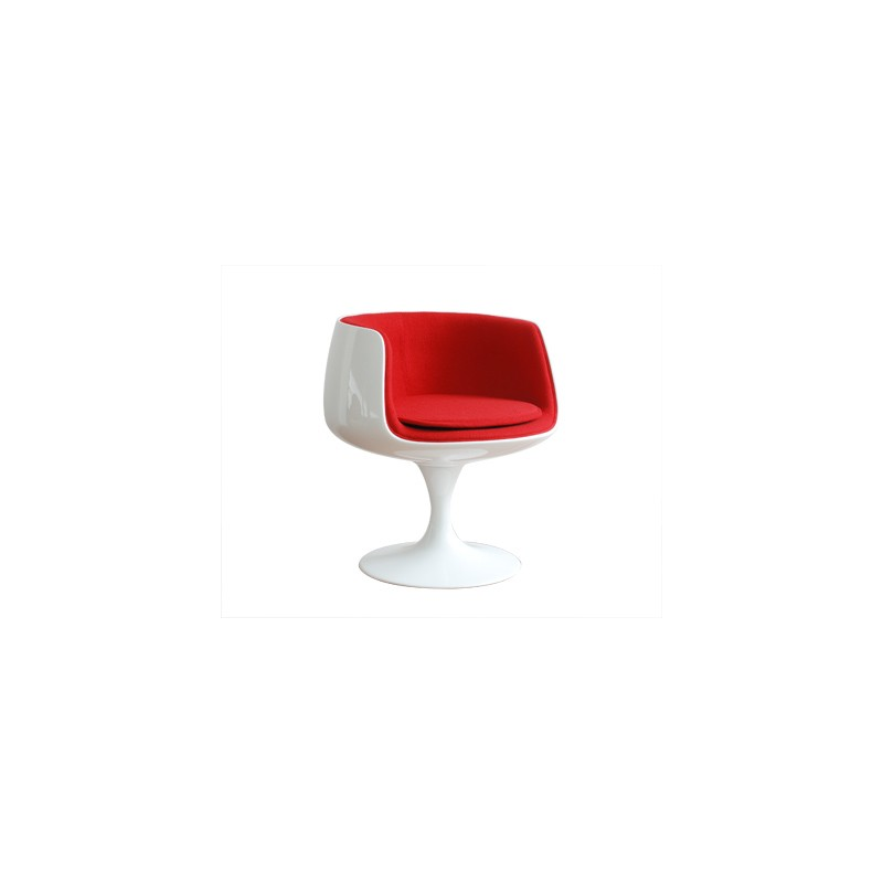 Cup chair rouge